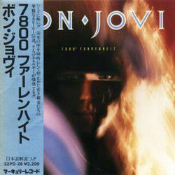 Bon Jovi 7800° Fahrenheit  1985  Japan