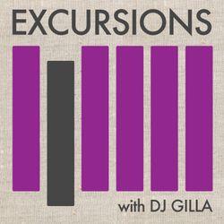 Excursions Radio Show #8 with DJ Gilla - June 2012