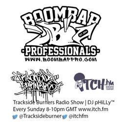 BOOM BAP PROFESSIONALS MC SPECIAL | TRACKSIDE BURNERS & ITCH FM RADIO SHOW #41 20-JULY-2014