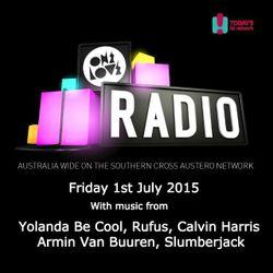 onelove radio Friday 3rd July 2015
