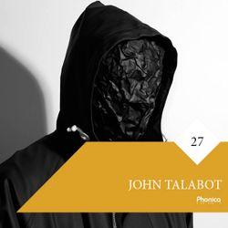 Phonica Mix Series 27: John Talabot