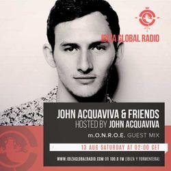 John Acquaviva & Friends #026 with mix by m.O.N.R.O.E.