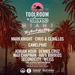 Mark Knight b2b Chus & Ceballos LIVE @ Toolroom x Stereo Miami 2018
