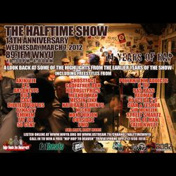 The Halftime Show 14th Anniversary 89.1FM WNYU March 7, 2012