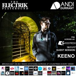 Electrik Playground 18/11/17 inc. Keeno Guest Session