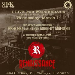 A Night @ Renaissance: I Live For Wednesdays - 1 March 2017
