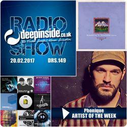 DEEPINSIDE RADIO SHOW 149 (Phonique Artist of the week)