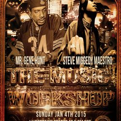 Global Mixx DJs Music Workshop w/guest Steve Miggedy Maestro - 4 January 2015