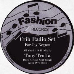 Tony Troffa Crib Radio Set All Vinyl