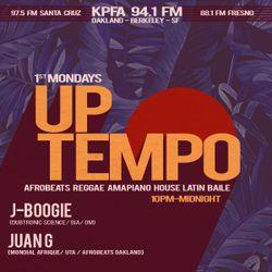 Off the Beaten Path- Uptempo Radio (4.2.21) AMAPIANO, AFROBEATS, LATIN, BRAZILIAN, REGGAE