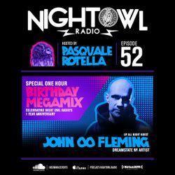 Night Owl Radio 052 ft. John 00 Fleming and 1-Year Anniversary Mega-Mix