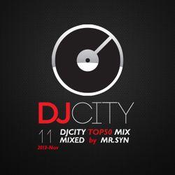 DJCITY 2013 Nov. Top50 MIX by MR.SYN