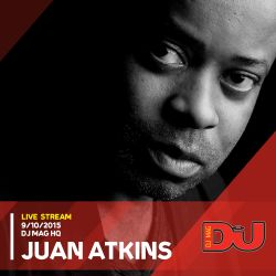 Juan Atkins Live from DJ mag HQ 9/10/2015
