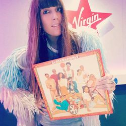 Georgie Rogers Music Discovery with Sylvan Esso Four Faves and Glass Animals vinyl on Virgin Radio