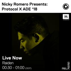 Raiden LIVE @ Protocol Showcase 2018 Melkweg