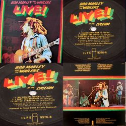 Bob Marley and The Wailers	Live! (1975)