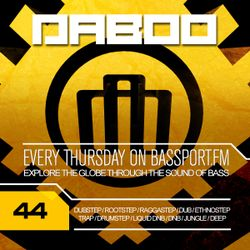 BASS TREK 44 with DJ Daboo on bassport.FM