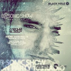 B-SONIC RADIO SHOW #120 with exclusive guest mix by Manuel Le Saux