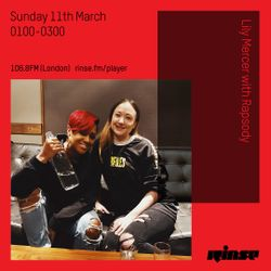 The Lily Mercer Show | Rinse FM | March 11th 2018 | Rapsody