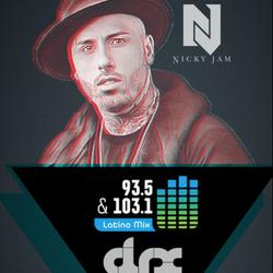 DJ-X Latino Mix Radio Nicky Jam Tribute