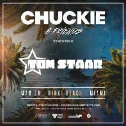 Tom Staar LIVE @ Chuckie & Friends Nikki Beach Miami 2017
