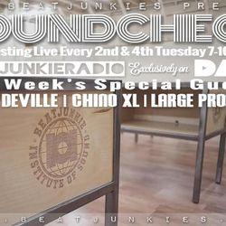 SOUNDCHECK (3/14/17) w/ LARGE PRO, SCOOP DEVILLE, & CHINO XL