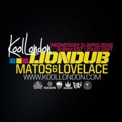 LIONDUB FT. MATOS + LOVELACE - 04.11.18 - KOOLLONDON [JUNGLE DRUM & BASS]