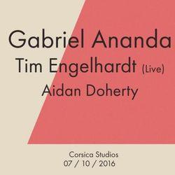 Gabriel Ananda (Basmati Music, Treibstoff, Click Records) @ Corsica Studios - London (07.10.2016)