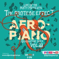 Dj Protege - AfroPiano Amapiano Vs AfroHouse Quarantine Mix (P.E Vol 33)