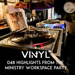 Vi4YL048: Live vinyl set recording from Ministry's workspace party - vibes! James Brown kicks off...