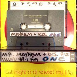 NY Live w/Mr. Mayhem, Sunset & DJ Riz 89.1 WNYU March 12, 1997