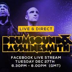 Drumsound & Bassline Smith - Live & Direct #18  Vinyl Mix (27-12-16)