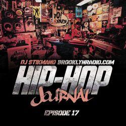 Hip Hop Journal Episode 17