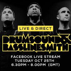 Drumsound & Bassline Smith - Live & Direct #9 (25/10/16)