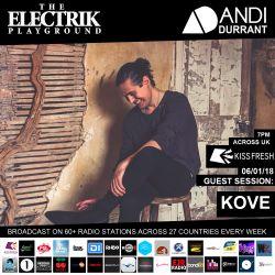 Electrik Playground 6/1/18 inc. Kove Guest Session