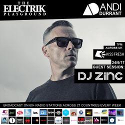 Electrik Playground 24/6/17 inc Zinc Guest Session