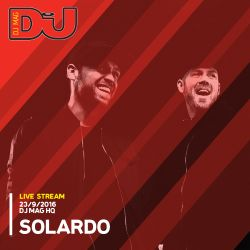 Solardo from DJ Mag HQ 23/9/2016
