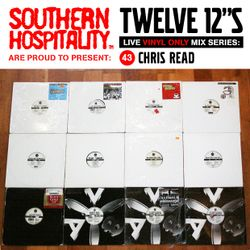 Twelve 12's Live Vinyl Mix: 43 - Chris Read - AV8 Special!