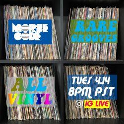 Rare Grooves - All Vinyl - 4.14.20