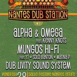 Mung's Hi Fi live in Nantes with Marina P, YT, Solo Banton and Kenny Knots - part 1