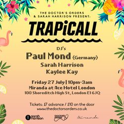 TRAPiCALL Launch Party (Promo Mix) - Mixed By Paul Mond x Sarah Harrison