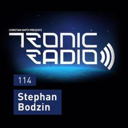 Tronic Podcast 114 with Stephan Bodzin