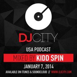 Kidd Spin - 2013 Megamix - DJcity Podcast