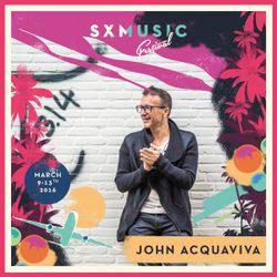 John Acquaviva live at SXM Festival, St. Maarten, March 2016