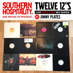 Twelve 12's Live Vinyl Mix: 42 - Jimmy Plates - Wu-Tang Special!