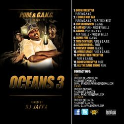 Pure & Gang present OCEANS 3 Mixed by DJ Jaffa