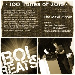 Max Kater on Starpoint - 100 Tunes of 2016, Part 1 and 2 of 4