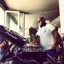 ALAN FITZPATRICK / LIVE from Mood at Sands sponsored by Absolut Vodka / 07.08.2013 / Ibiza Sonica