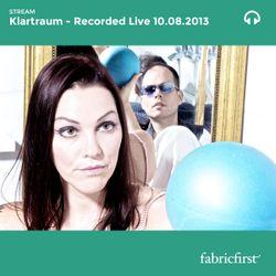 Klartraum - Recorded Live 10/08/2013