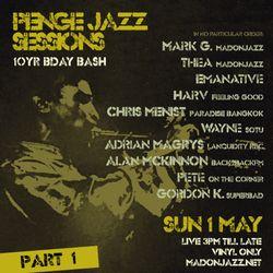 Penge Jazz Sessions May 2016 - Pt 1: MADONJAZZ / Wayne  / Pete OTC